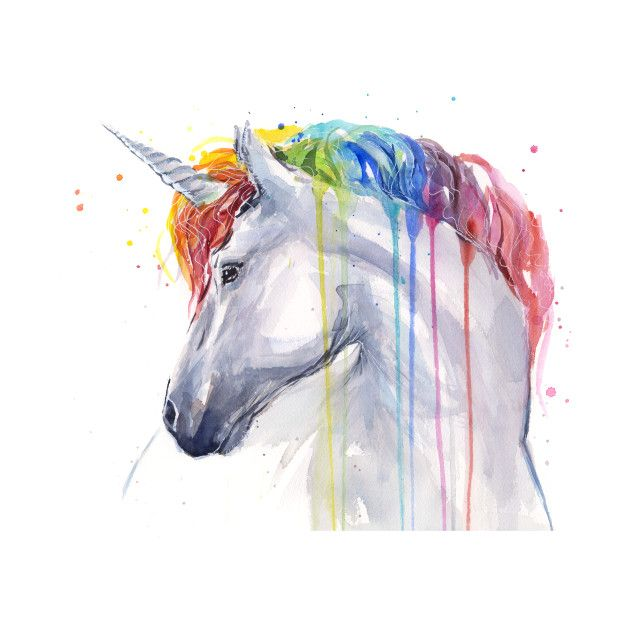 Check Out This Awesome Rainbow Unicorn Design On Teepublic