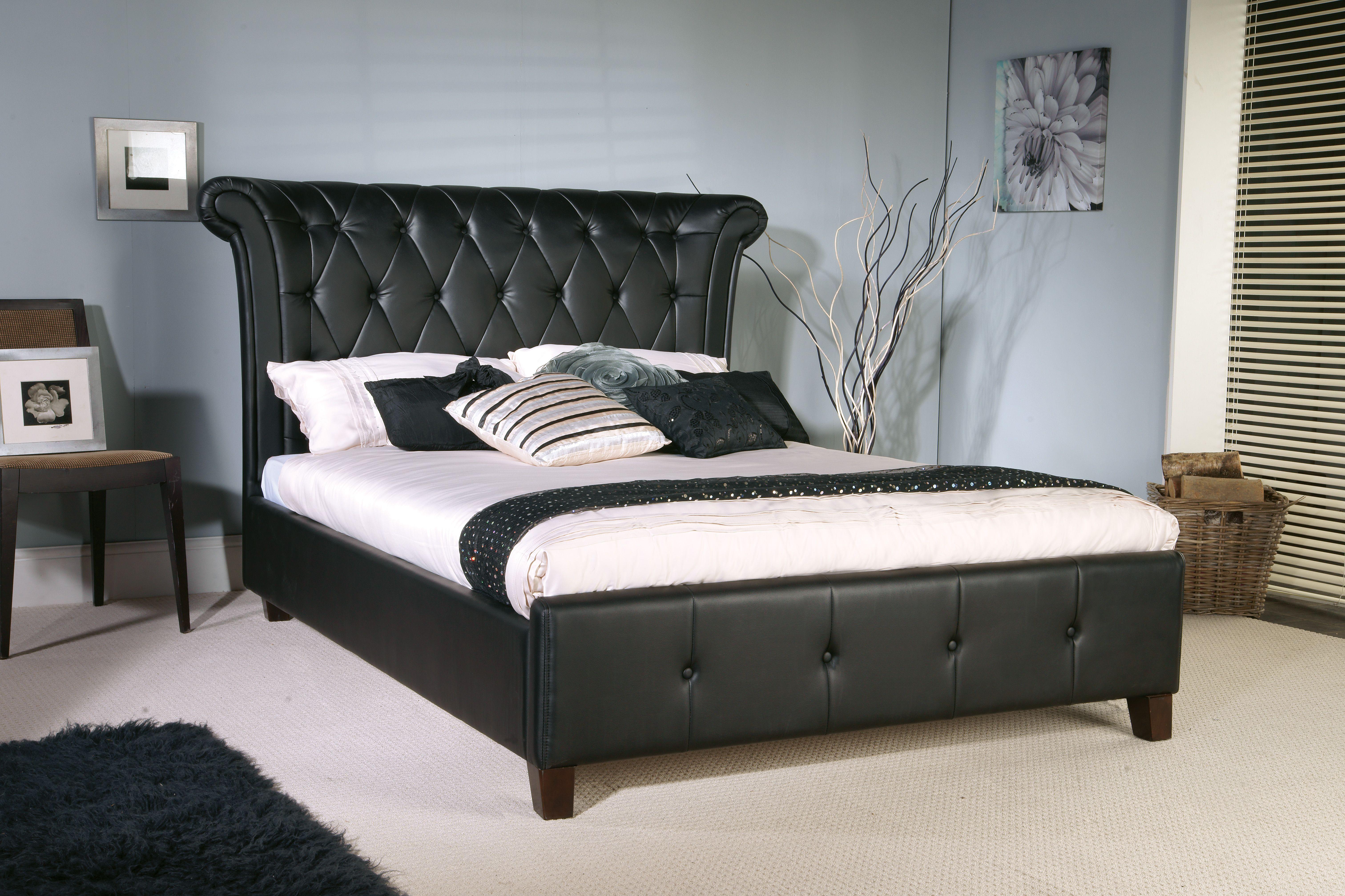 Epsilon Black Bedstead A Majestic Design Bedstead In A Black
