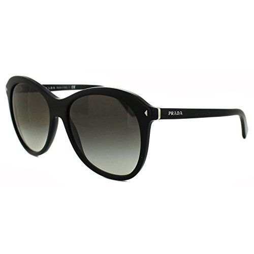 ed42720b79861 ... usa prada sunglasses pr 22ms 2au6s1 havana 01mm prada womens 13r black  frame grey gradient lens