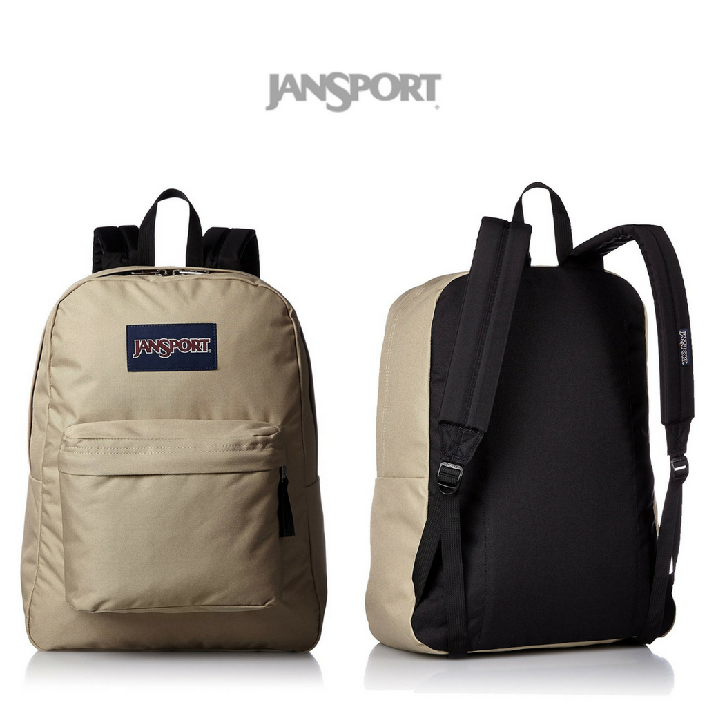 JanSport - Superbreak Backpack   Field Tan   Click for Price and More   Backpack  Ideas   Backpack Styles   Everyday Storage   JanSport Backpack   School ... ca0b4b1ee7