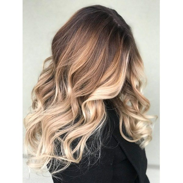 Bright Caramelized Balayage In 2019 Hair Color Hair
