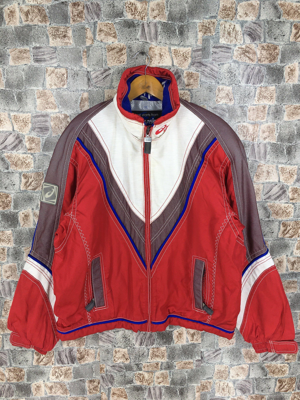 Vintage 90's ASICS Warmer Jacket Large Asics Japan