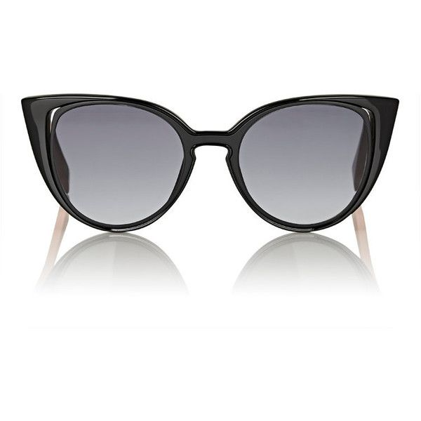 d3cf69bd57281 Fendi Women s Cutout-Lens Cat-Eye Sunglasses