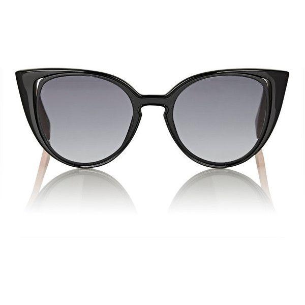 58a3e1555b Fendi Women s Cutout-Lens Cat-Eye Sunglasses