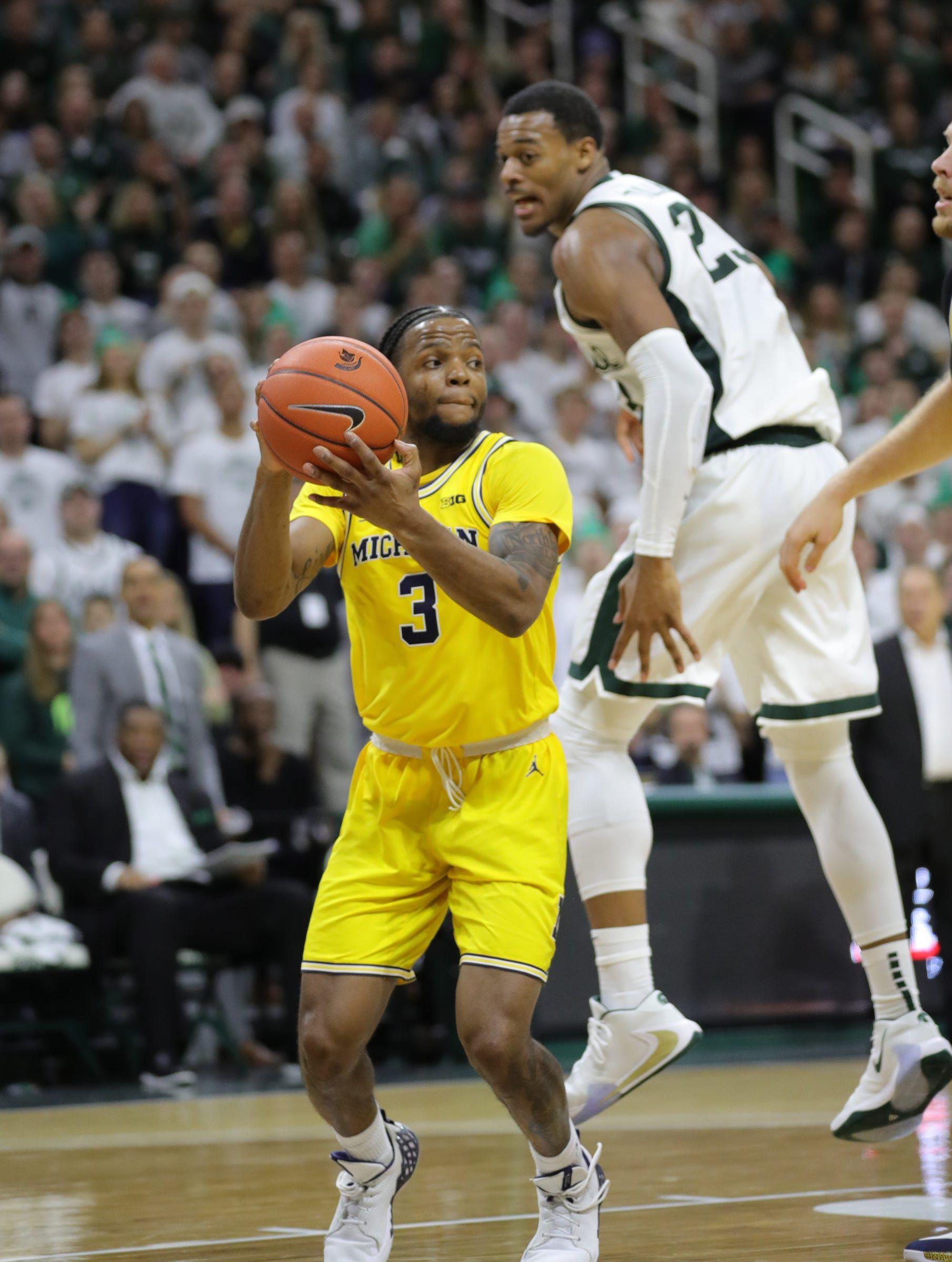 Michigan State basketball, Michigan both drop in latest