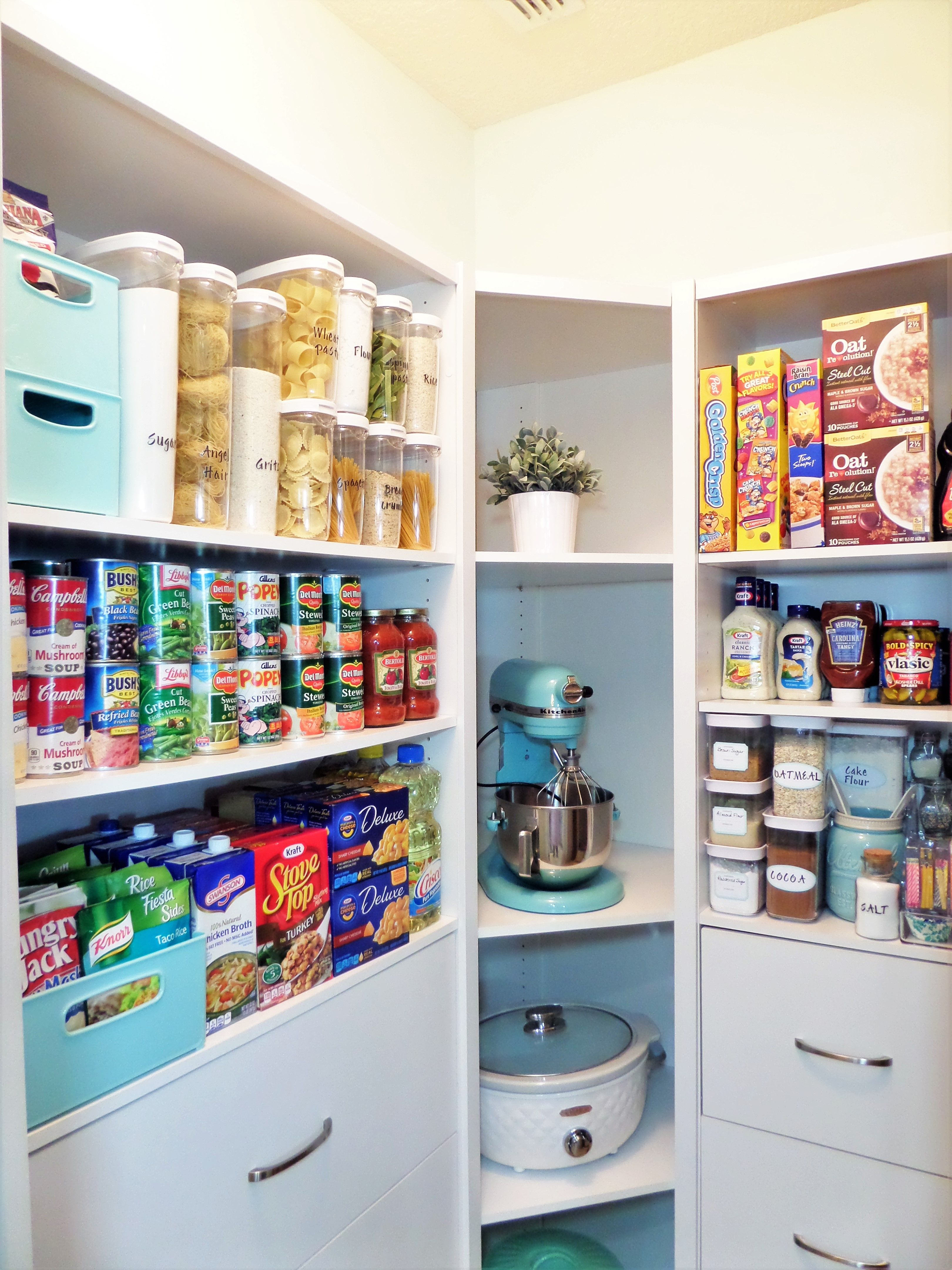 Closetmaid Space Creations, Has Changed Our Pantry For The Better, Whether  You Have A