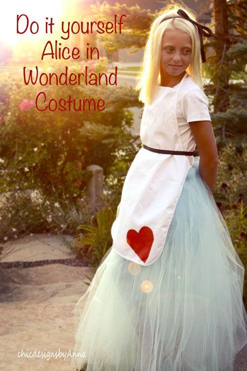 Diy alice in wonderland costume tutorial perfect for the mad t diy alice in wonderland costume tutorial perfect for the mad t party and halloween time solutioingenieria Gallery