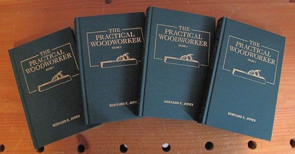 Woodworking Books: Practical Woodworker 4 Volume Set | ShopWoodworking