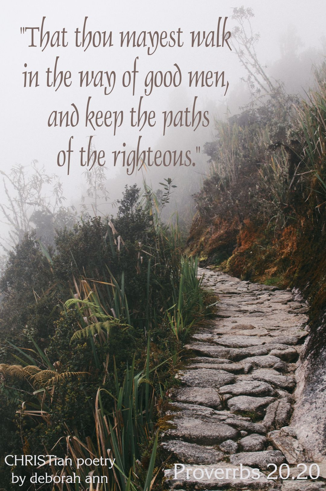 Staying On the Righteous Path ~   Paths, Gods guidance, Faith quotes