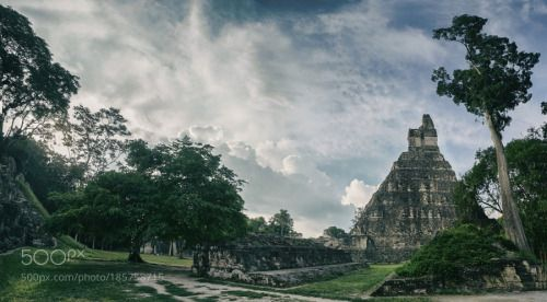 A thousand years later by edtsousa  jungle maya ruins mayan guatemala tikal edtsousa