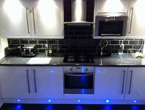 Kitchen Tiles Black Worktop black gloss kitchen tiles - google search | dream kitchen