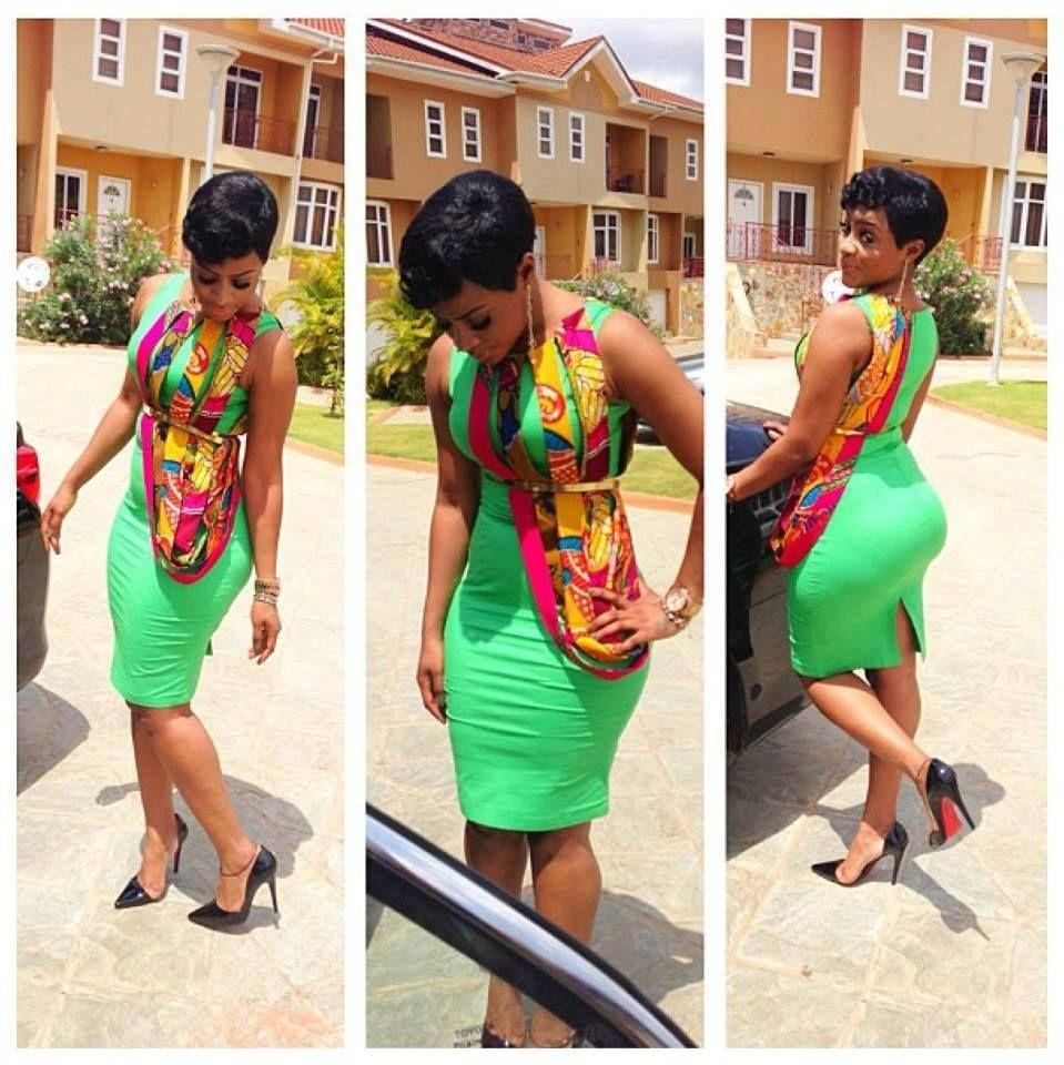African sweetheart style ankara season andreauher shoes