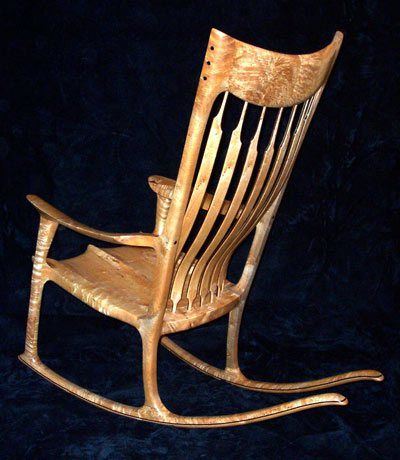 sam maloof rocking chair plans hal taylor masoli cobblestone swivel woodworking bandsaw