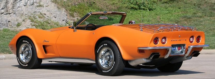 1973 Chevrolet Corvette Stingray Convertible 454 Chevrolet Corvette Chevrolet Corvette Stingray Classic Corvette