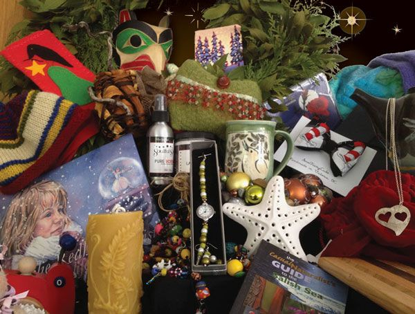 Gifts & Wishes 2014 Nov 26 - December 21 at the Coast Collective in Victoria BC