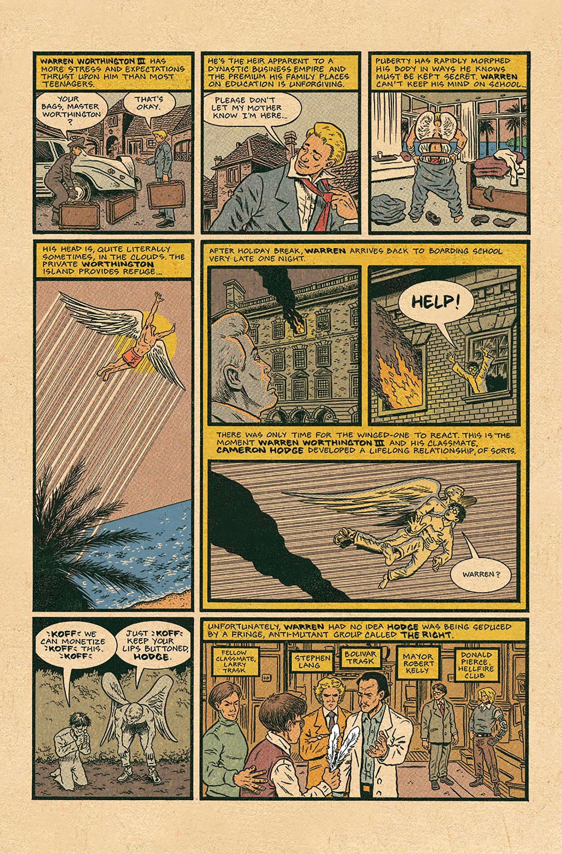 In X Men Grand Design Ed Piskor Tells The Superheroes Whole Story Grand Designs X Men Grands