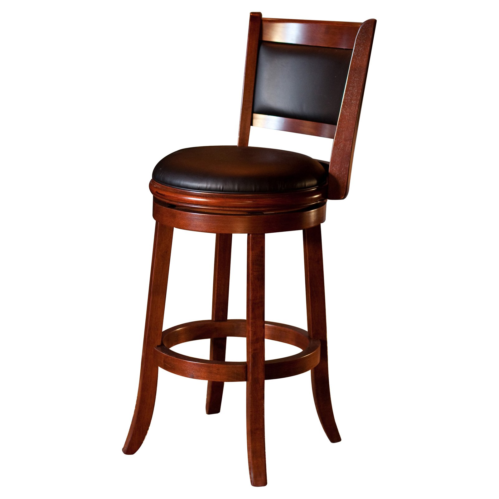 Tremendous Boraam Augusta 29 In Swivel Bar Stool Cherry Products In Machost Co Dining Chair Design Ideas Machostcouk