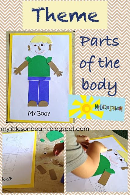 Art Activities For My Body Theme