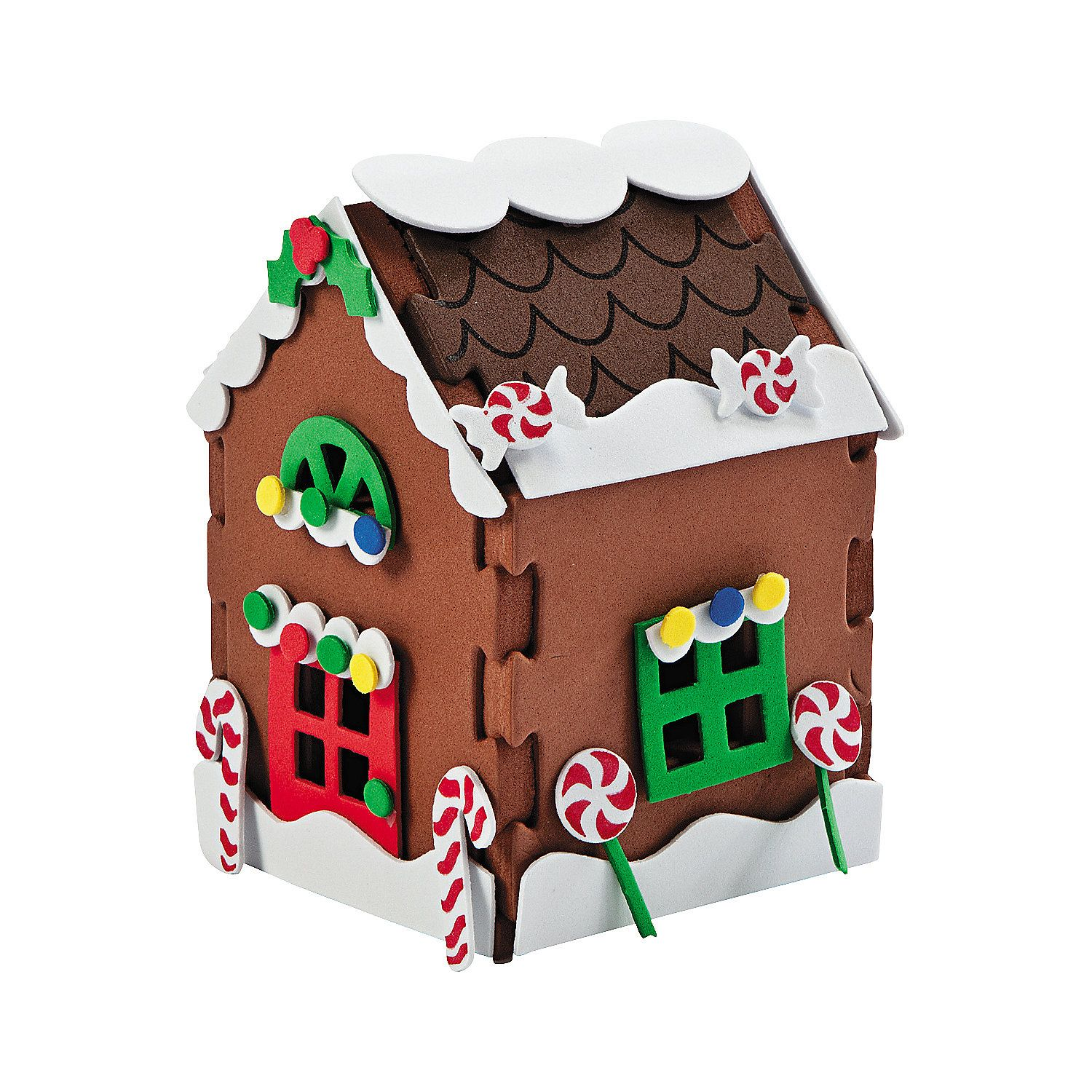 Top 10 Christmas Craft Construct Your Own 3d Gingerbread