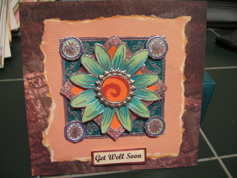 get well  cards handmade handmade cards