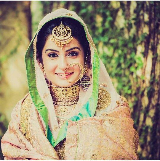 Glory Of A Royal Desi Bride. Love The Nath