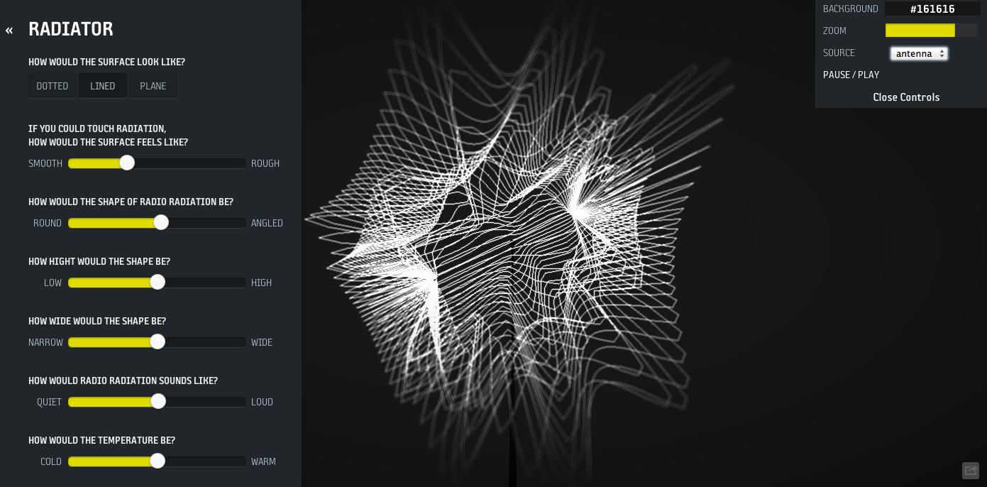 Radiator' by Sebastian Sadowski – Visualising the radio