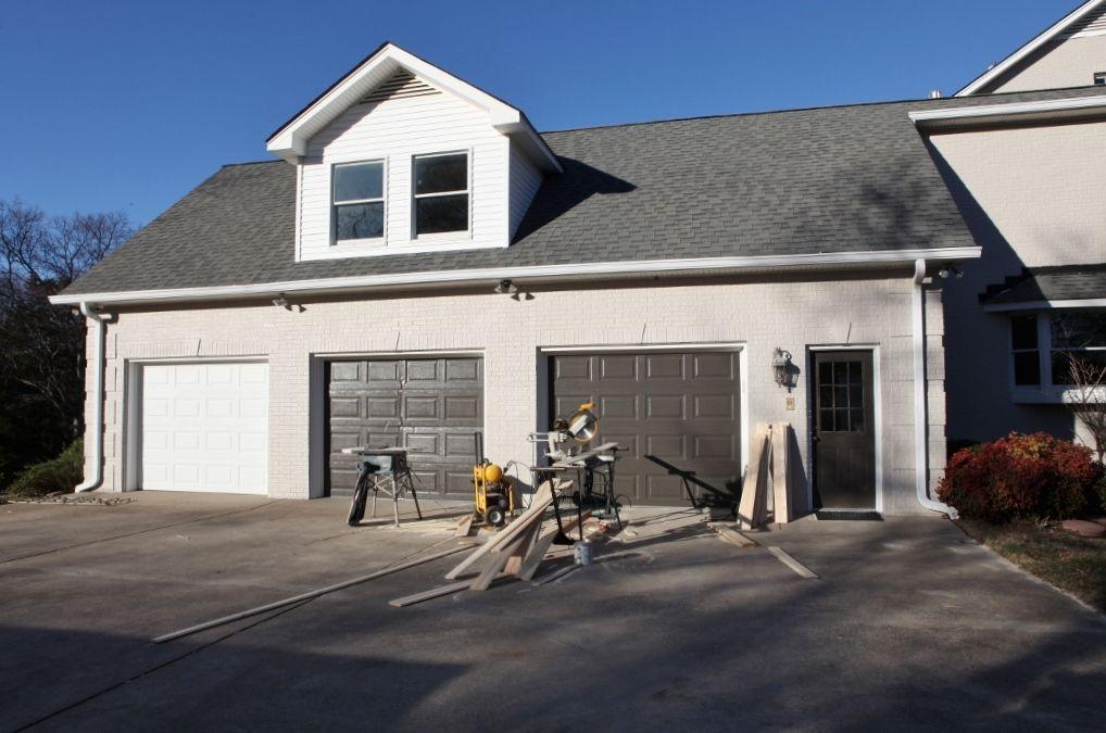 Urbane Bronze Garage Doors With Light Trim I Don T Think