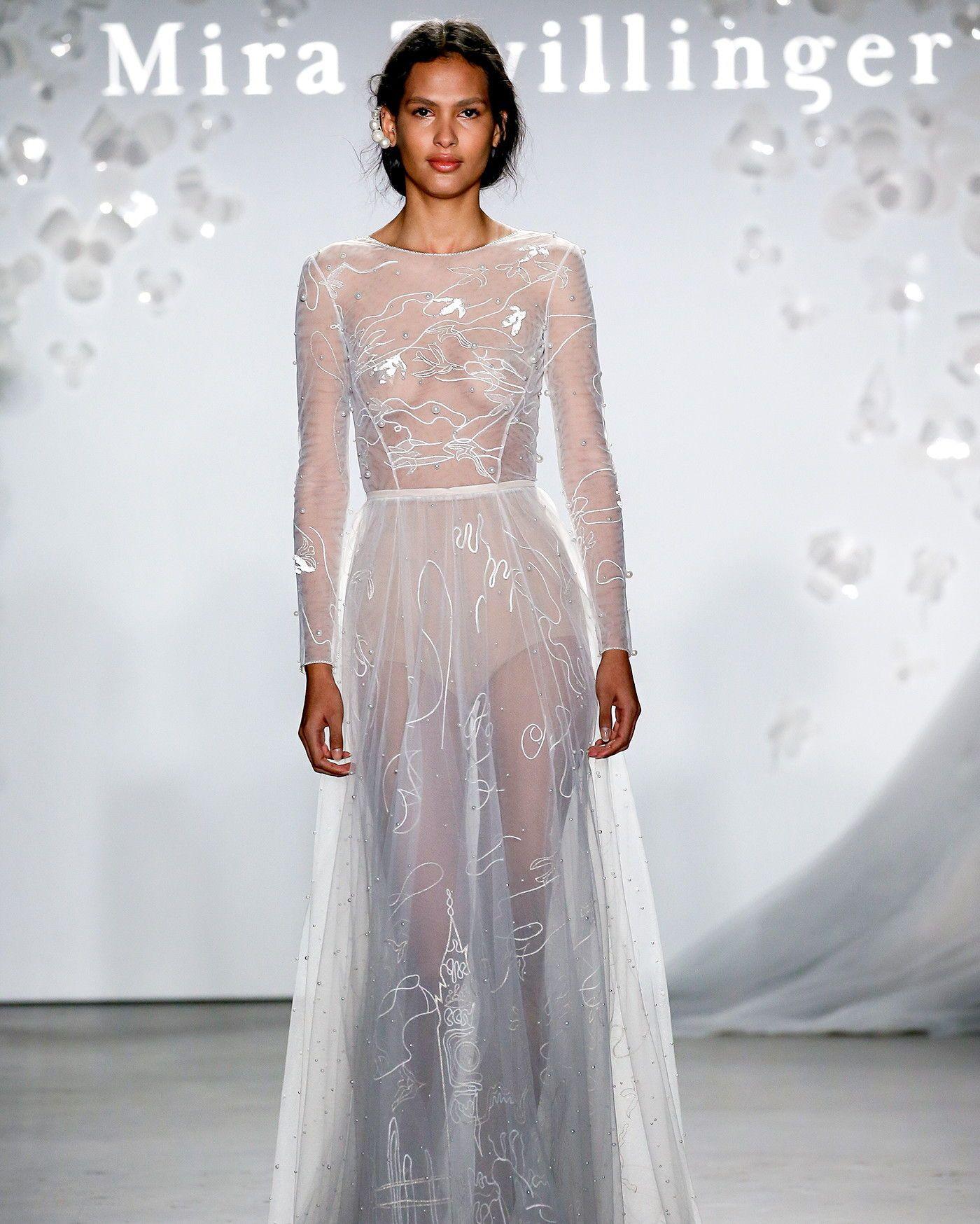 Bridal Fashion Week 2020.Mira Zwillinger Spring 2020 Wedding Dress Collection