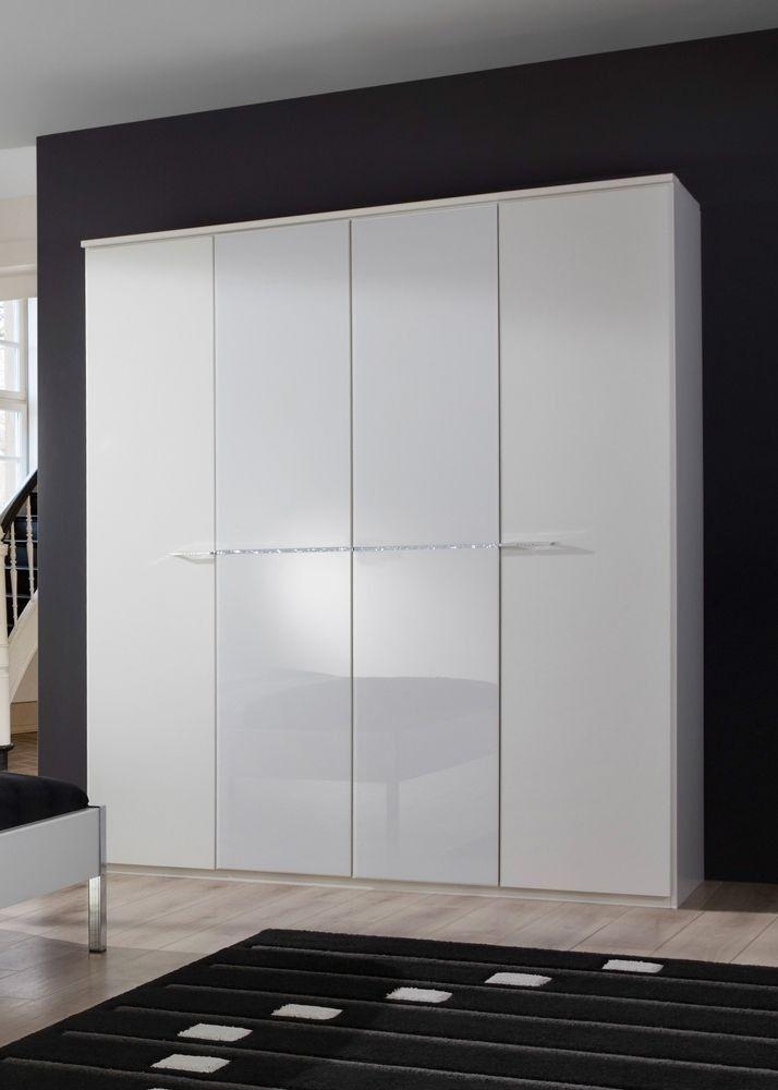 Simple Kleiderschrank cm Wei Strasskristall Buy now at https