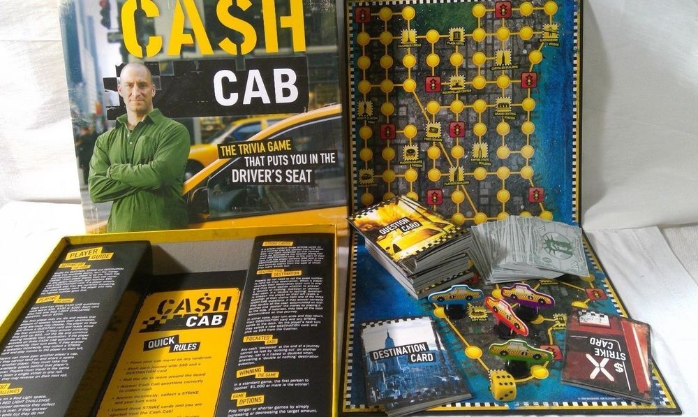 Cash cab game questions health safety gambling