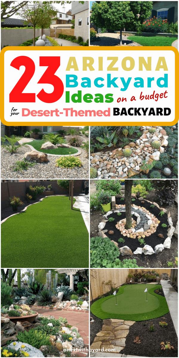 Arizona backyard ideas on a budget fi in 2020 | Arizona ... on Backyard Desert Landscaping Ideas On A Budget id=99669