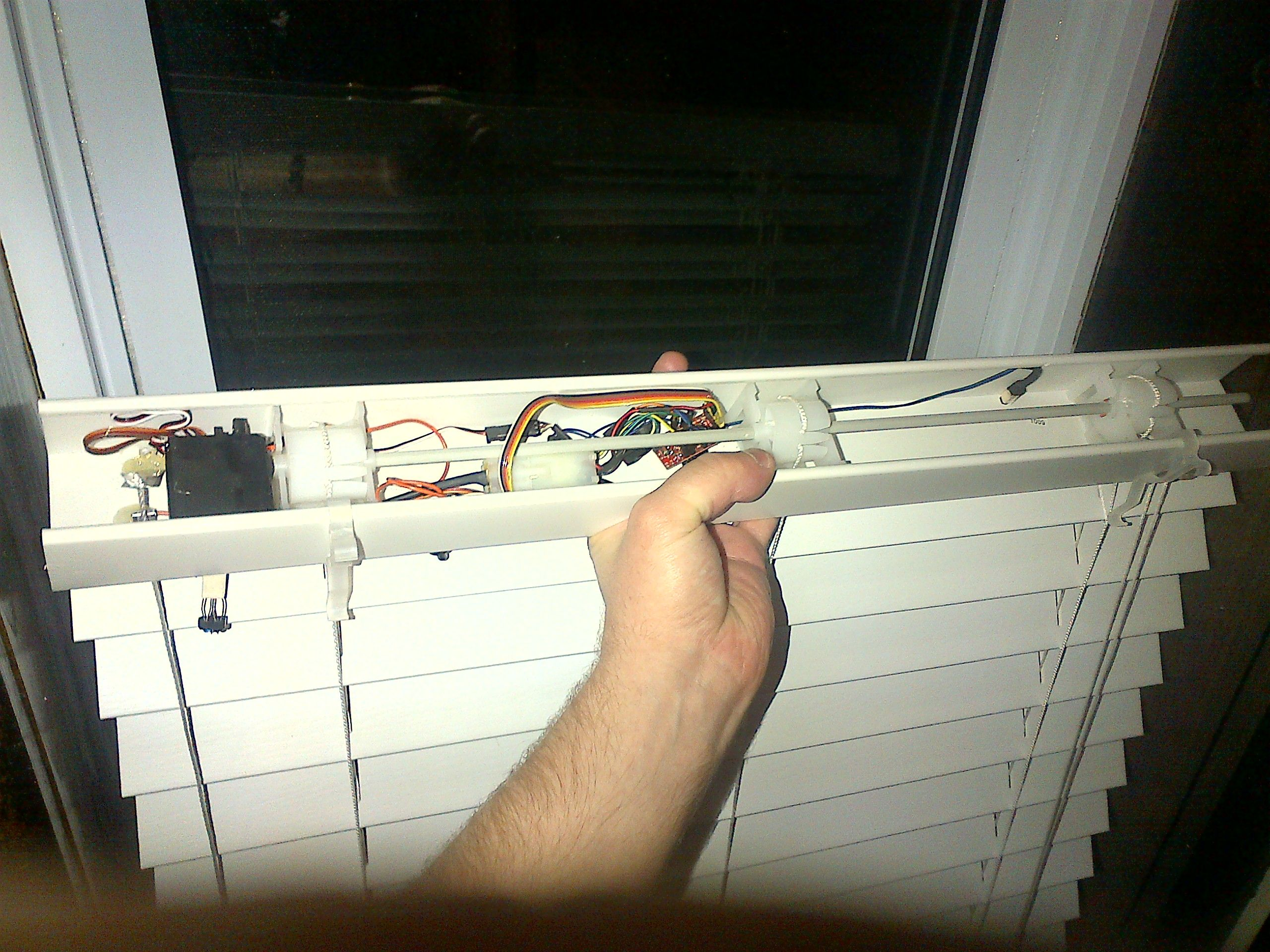 Automated Window Blinds With Arduino Blinds For Windows Home