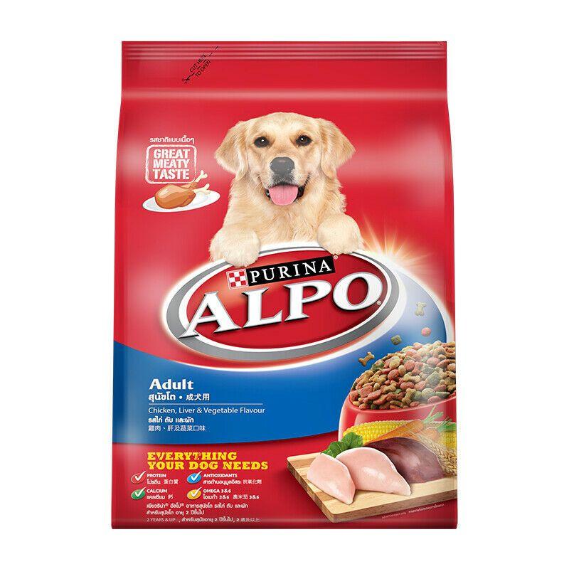 3kg purina alpo chicken liver vegetable adult dog food