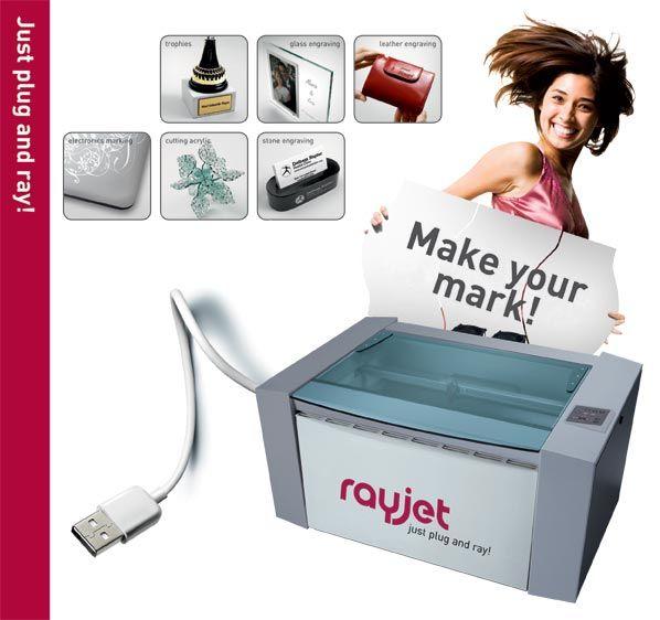 Rayjet 300 Laser Engraver | Trotec | Pinterest