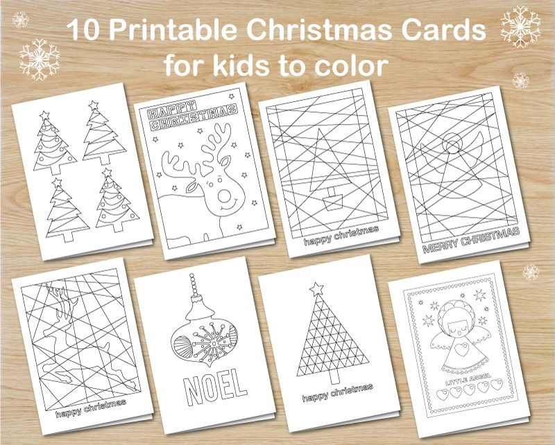 Christmas Free Printables Colouring Art Craft Ideas For Kids Free Printable Christmas Cards Christmas Coloring Cards Christmas Cards Kids