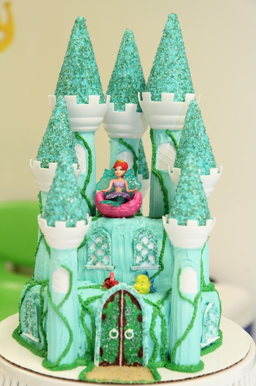 my proudest moment! cake tutorial: princess castle cake using