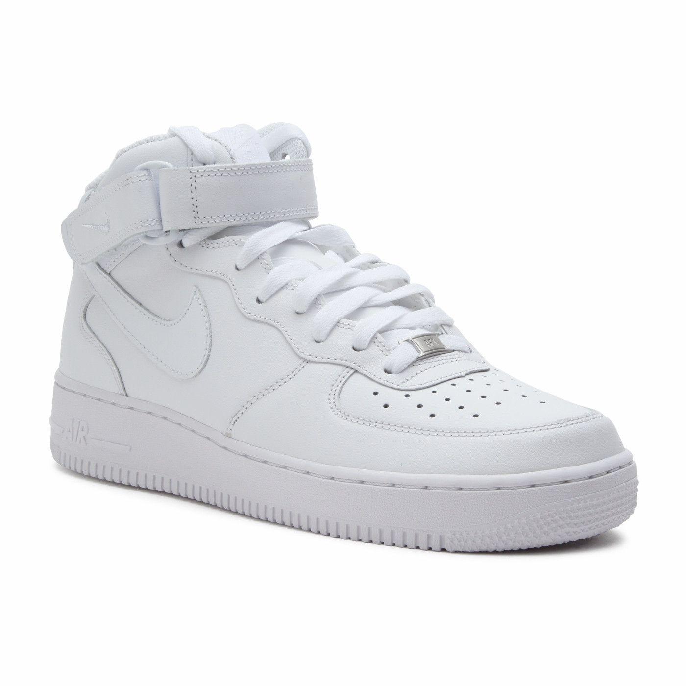 Nike Air Force 1 Mid '07 315123 111   Nike air force, Nike