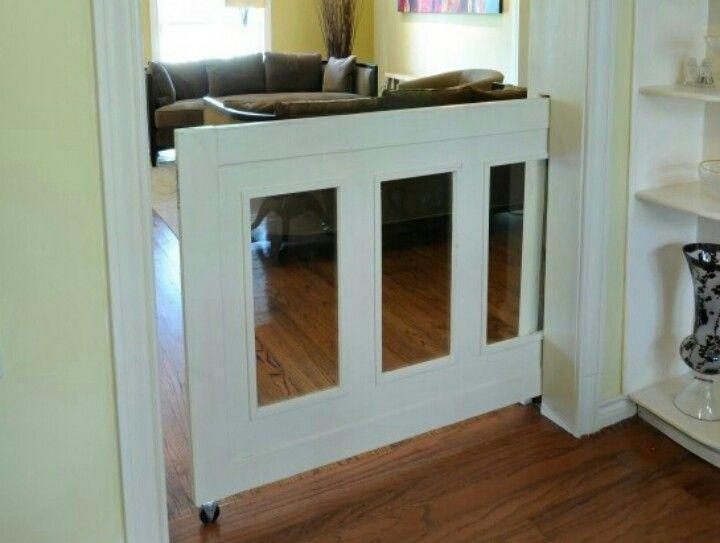 Pocket Door Baby Pet Gate Sliding Door In Wall Cavity