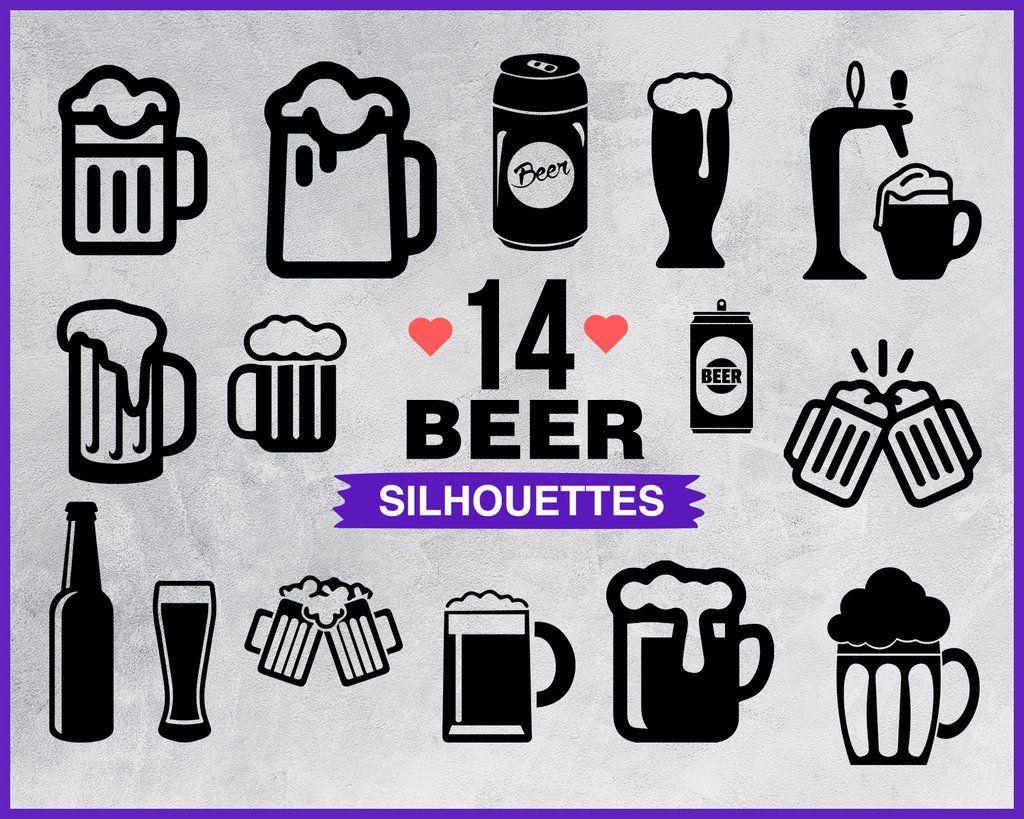 Beer Svg Beer Bundle Beer Mug Vector Svg File For Cricut Design Elements Silhouette Beer Png Dxf Esp Svg Beer Bottle Clipart Svg Files Beer Images Beer Clipart Svg Files