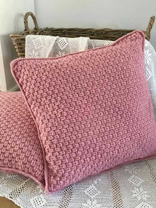 Mandensteek Kussenhoes Haken Pinterest Crochet Crochet Pillow