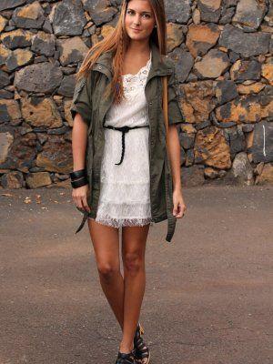 Zara Combinar 2012 Vestido Primavera Blanco Marianela406862 Outfit 8Yzv6