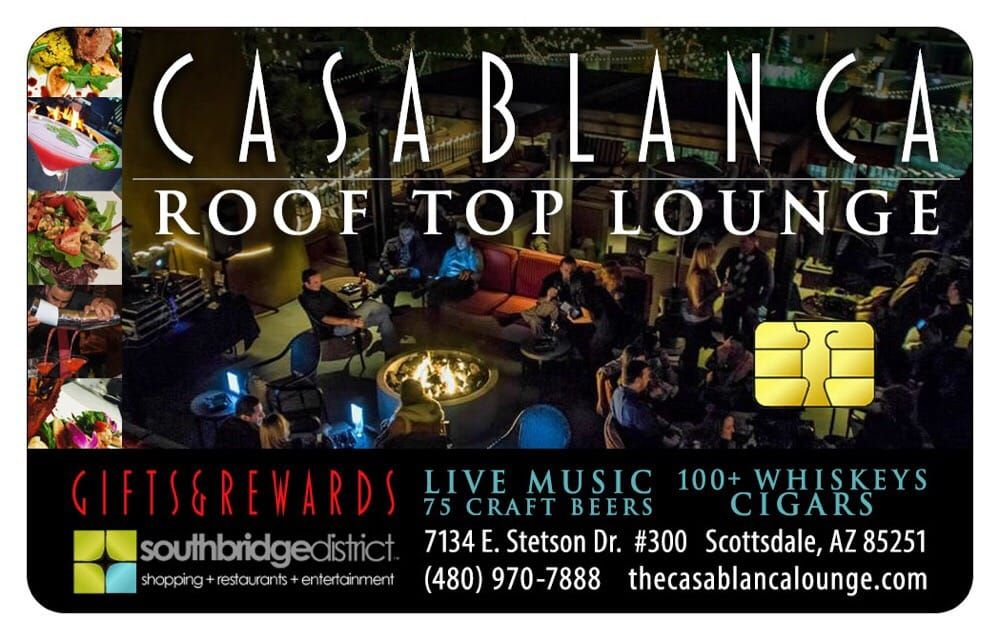 Photo Of Casablanca Rooftop Lounge Scottsdale Az United States Rewards For All Rooftop Lounge Rooftop Old Town Scottsdale