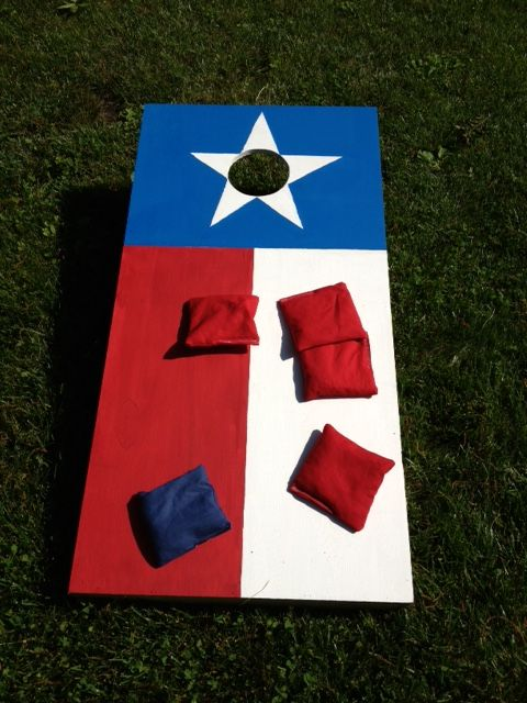 Hand Painted Cornhole Board Texas Flag Corn Hole Diy Cornhole Boards Diy Cornhole Boards