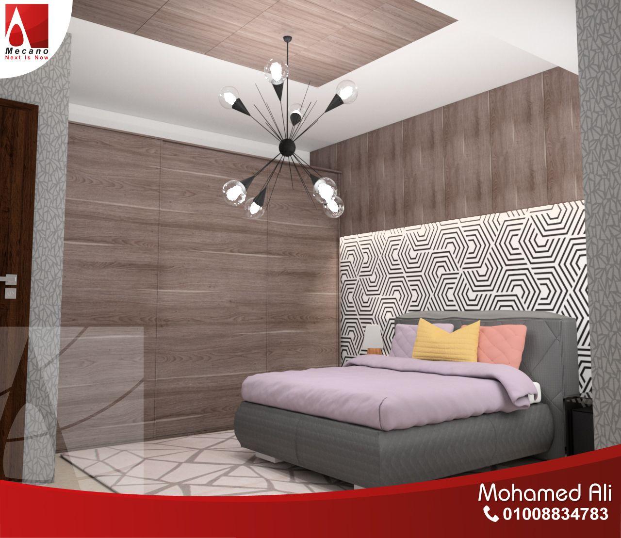 خلفية سرير لغرفة نوم مودرن Home Decor Home Furniture