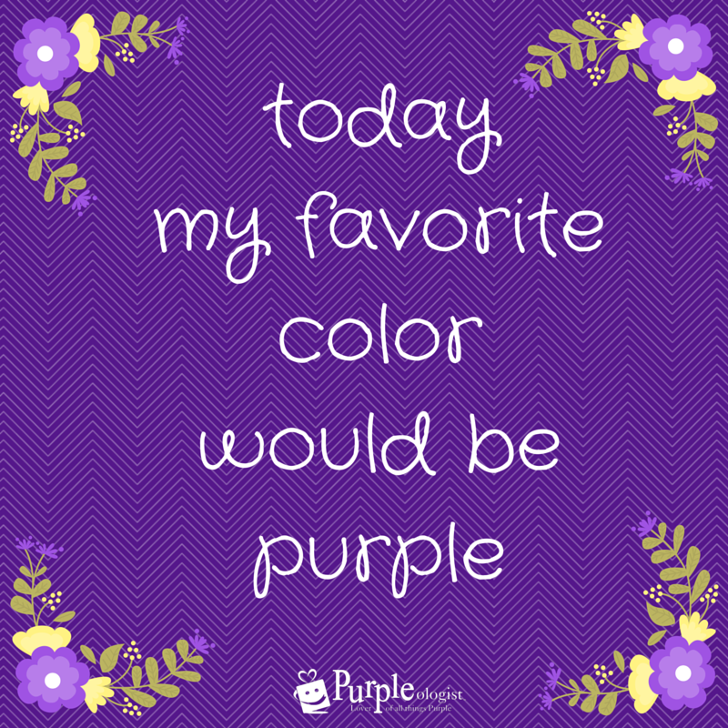 9 purple quotes to make you smile purple quotes purple and favorite color. Black Bedroom Furniture Sets. Home Design Ideas