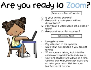 Zoom Etiquette Digital Learning Classroom Teaching Technology Teaching Classroom