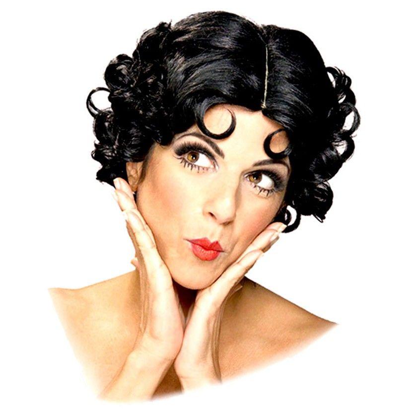 Womens Betty Boop Halloween Costume Accessory Wig