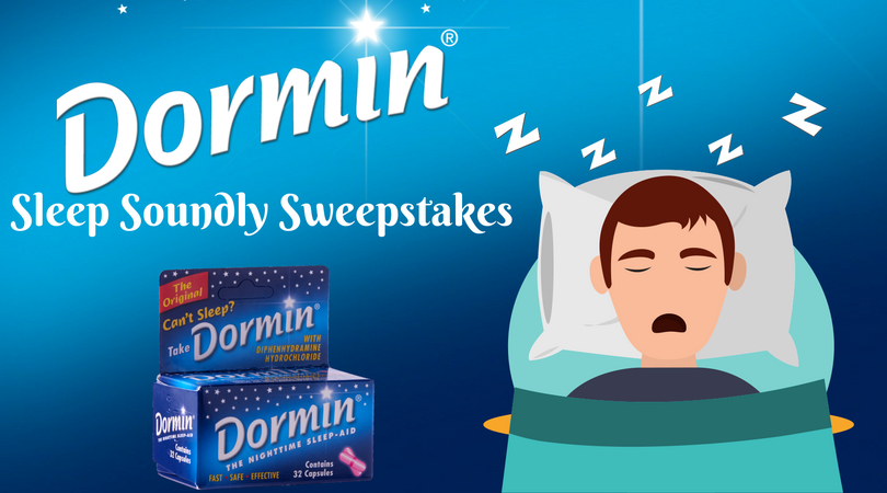 I entered for a chance to win a Sleep Soundly prize