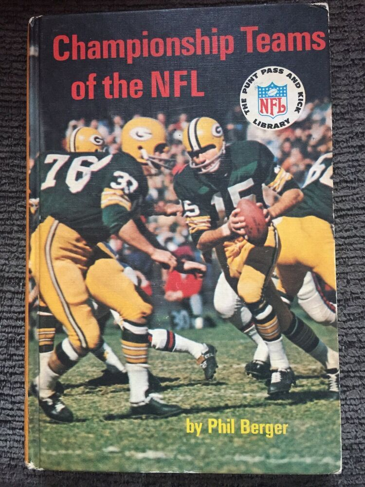 Championship Teams of the NFL by Phil Berger (1968
