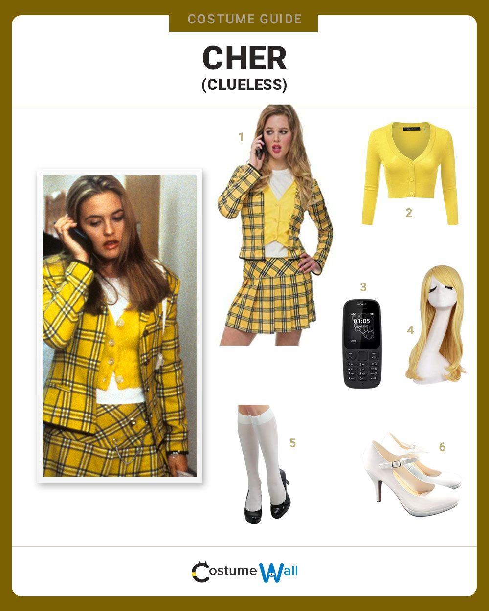 Dress Like Cher Horowitz From Clueless Clueless Costume Clueless Halloween Costume Clueless Outfits